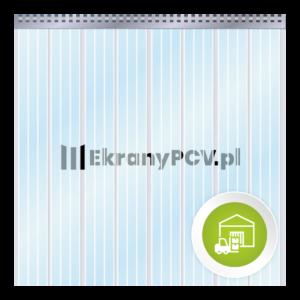 Kurtyna Paskowa PCV Żebrowana
